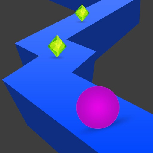 Zig Zag Man On The Crazy Road -  Jump On The Boom Line iOS App