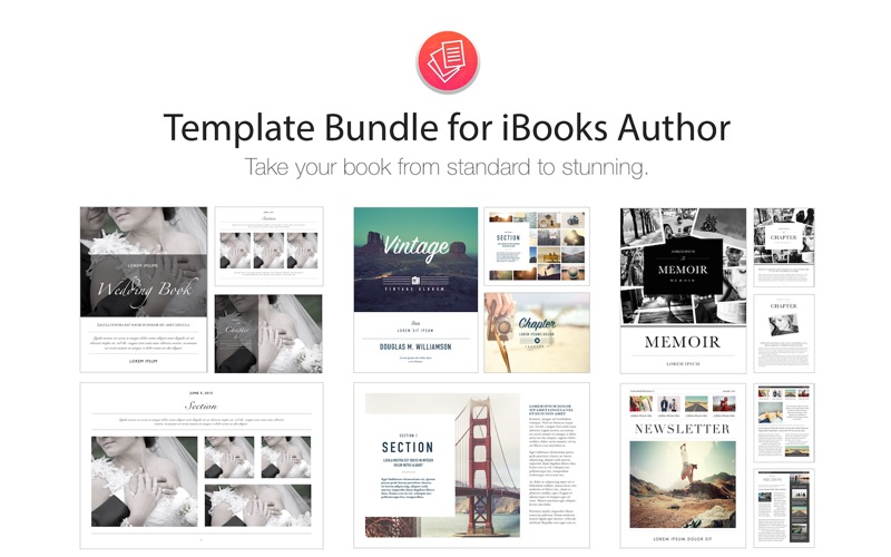 Template Bundle for iBooks Author | App Price Drops