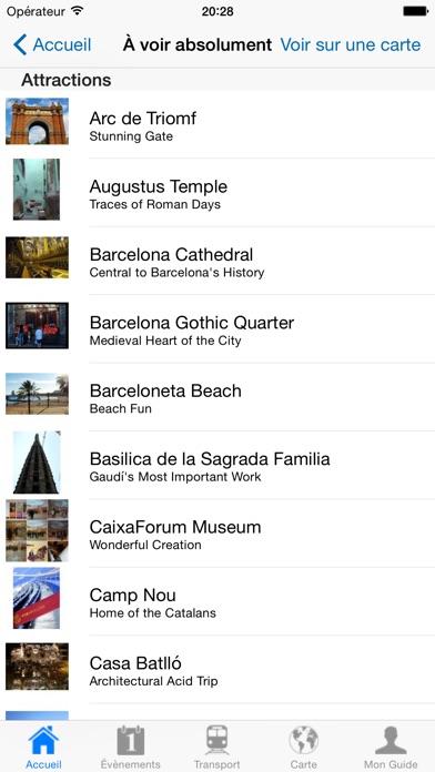 Barcelone: Guide de voyageCapture d'écran de 4