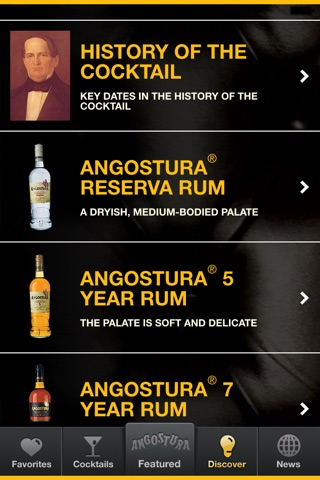 Angostura screenshot 1