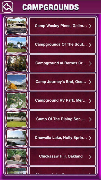 download Mississippi Campgrounds Offline Guide apps 4