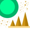 Bouncing Fun Ball - Classic zigzag iPhone Game For Kids