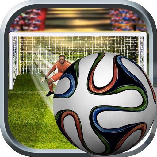 Freekick Fricker ~ football drive shoot ~ iOS App