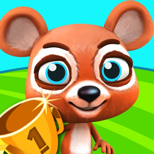 Mini Race Dash & Dodge - Fun Pet Running Adventure Icon