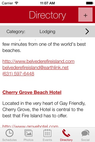 Fire Island App screenshot 3