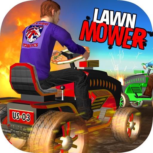 Lawn Mower Clash Bang Boom iOS App
