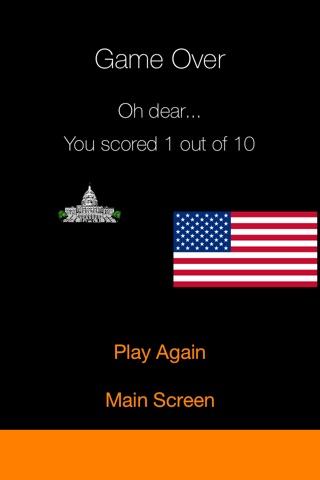 Against The Clock - American State Capitals screenshot 3