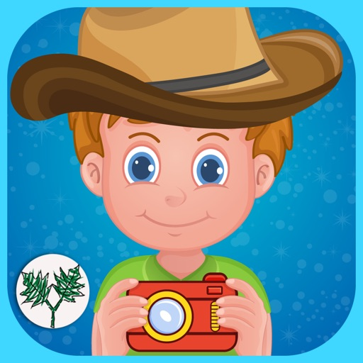 Little guy photo booth –Creative playtime editor for kids and boys
