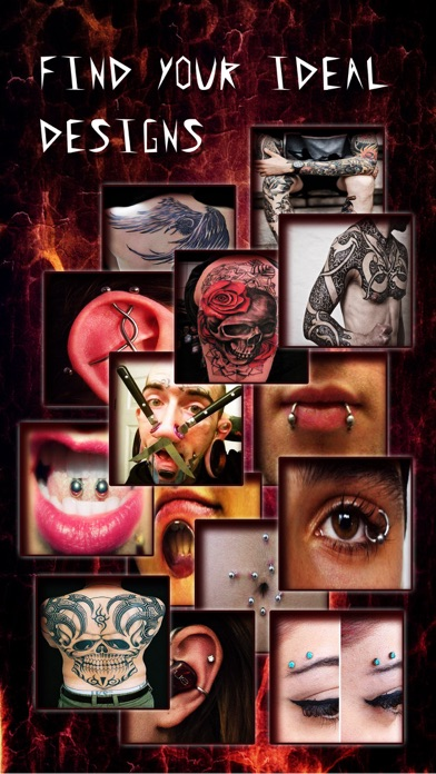download Piercing & Tattoo Catalog Pro - Yr Design Ideas of Body Art Inked or Pierced apps 1