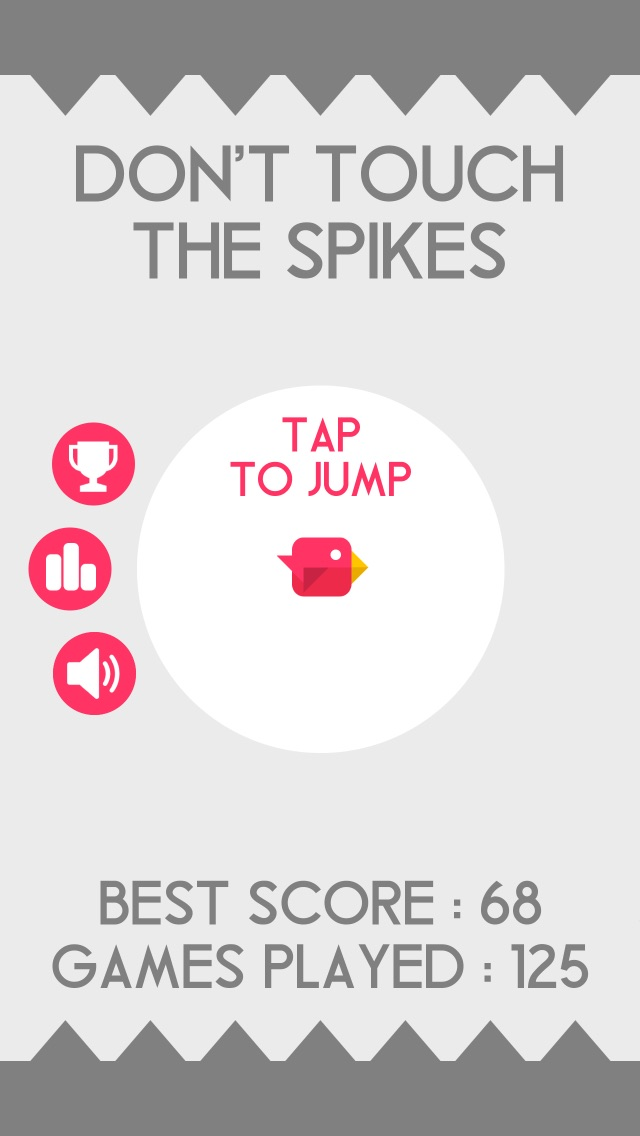 Screenshots of Don't Touch The Spikes for iPhone