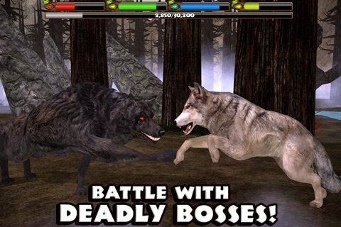 Ultimate Wolf Simulator screenshot 4