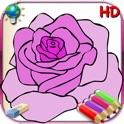 Livro de colorir para as meninas para iPad com lápis de cor - 36 páginas para colorir com princesas,