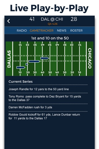 Pro Football Radio & Live Scores screenshot 2