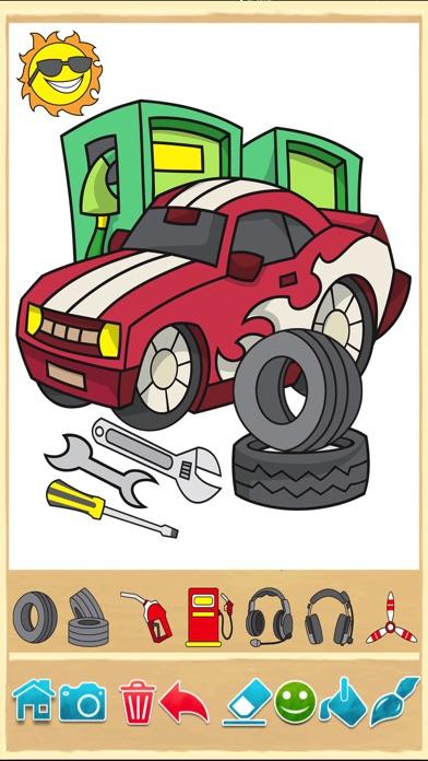 Auto Kleurboek Kleurplaten Tekenen Met Auto S Vrachtwagens En