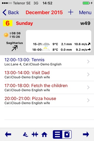 Life Calendar - Events & Photo screenshot 1