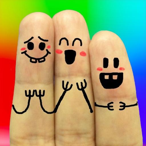 趣怪手指表情器:Cool Finger Faces【趣怪摄影】