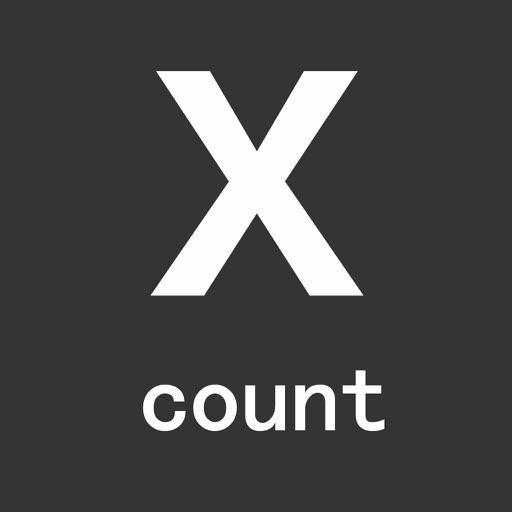 X Count iOS App