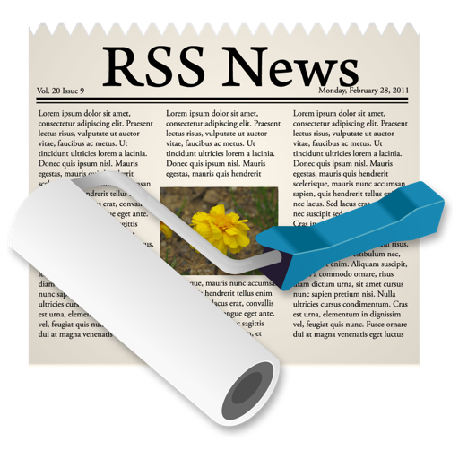 NewsRoll Mac OS X
