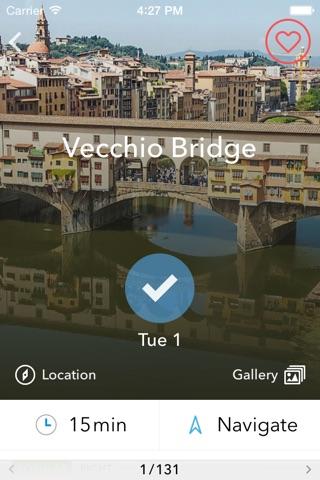 Florence Trip Planner, Travel Guide & Offline City Map screenshot 4
