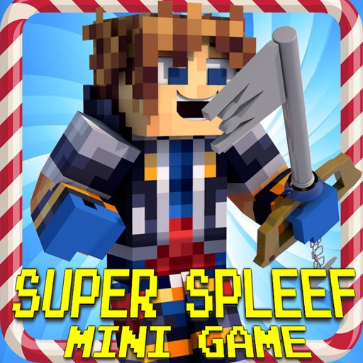 Super Spleef - Multiplayer Mini Game in 3D Blocks