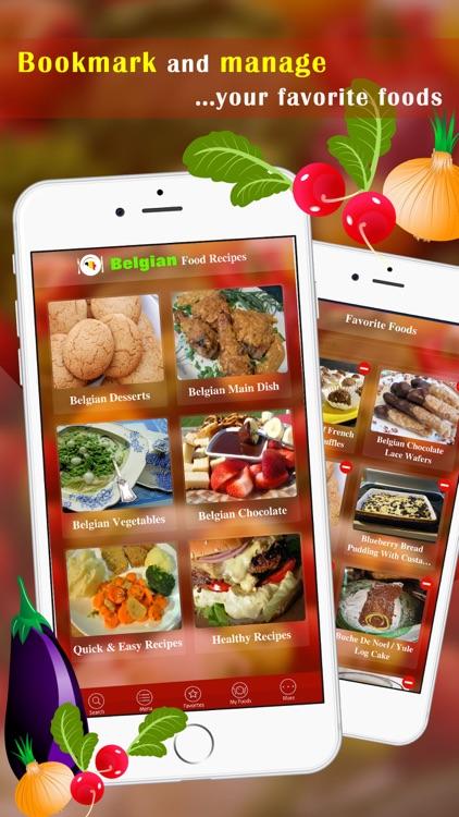 Easy belgian food recipes