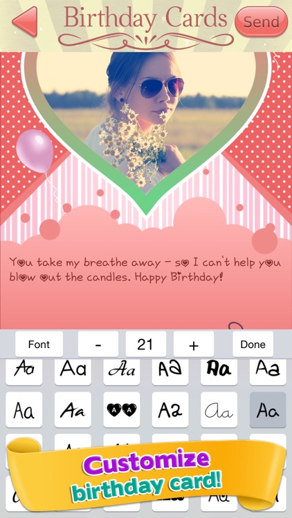 Happy birthday greeting cards pro customized photo ecards for happy birthday greeting cards pro customized photo ecards for friends and family screenshot 3 bookmarktalkfo Choice Image
