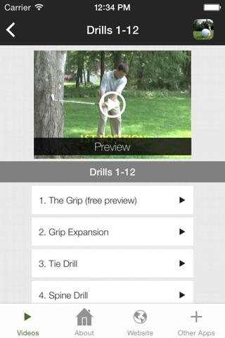 Backyard Golf screenshot 2