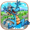 Crazy Jumping Dragon Adventure Pro - New fantasy racing arcade game