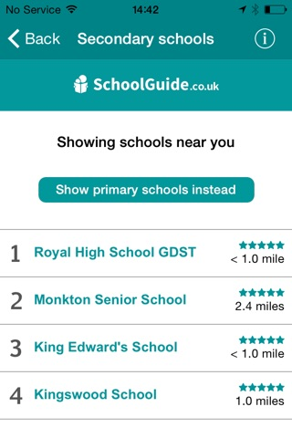 School Guide UK screenshot 3