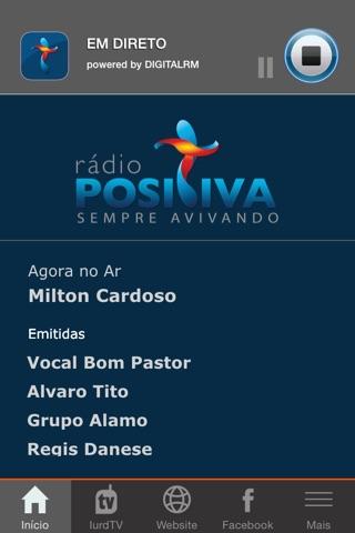 Rádio Positiva Portugal screenshot 1