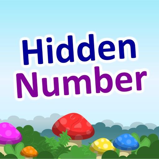 Hidden Number -Beginner Level iOS App