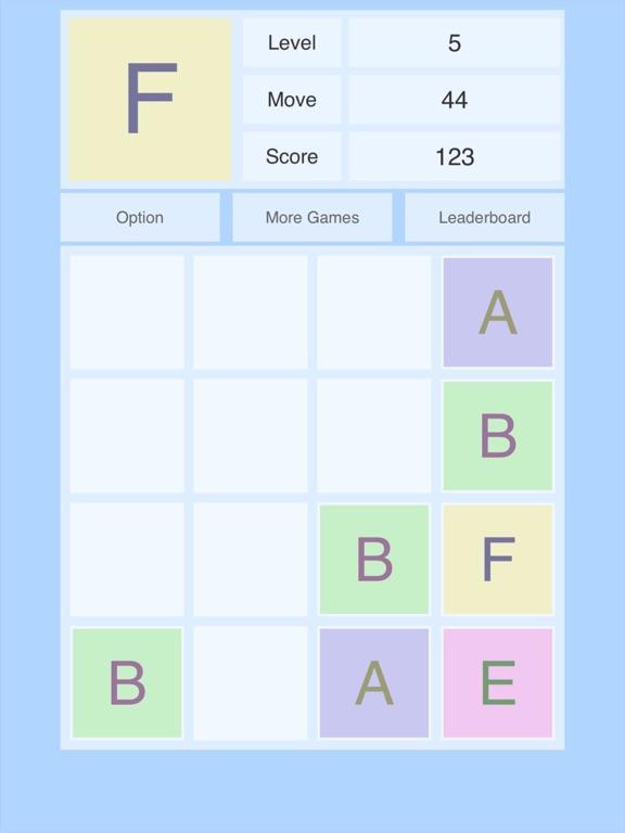 Alphabet 2048 Screenshots