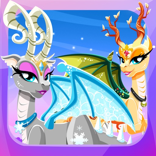 Princess Baby Dragon Dress Up – Monster Pets Salon iOS App