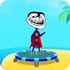 Trampoline Backflip - Diving Madness Man Games