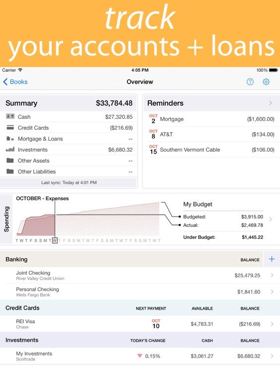 Banktivity – iPad by IGG Holdings, LLC