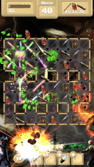 Wizard Vs Zombie Free Fall Unlocked Screenshot 3