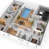 3D Minimalist Houses Plans home design house plan