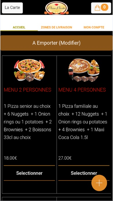 Pizza Presto DivesCapture d'écran de 3