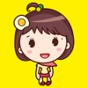 Yolk Girl Sticker - Cute Message Sticker Emoji sticker