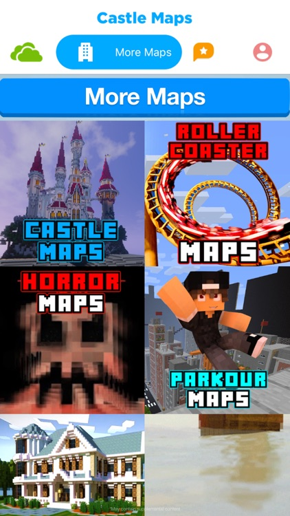 Castle maps for minecraft pe pocket edition mcpe by alpha labs llc castle maps for minecraft pe pocket edition mcpe screenshot 3 freerunsca Image collections