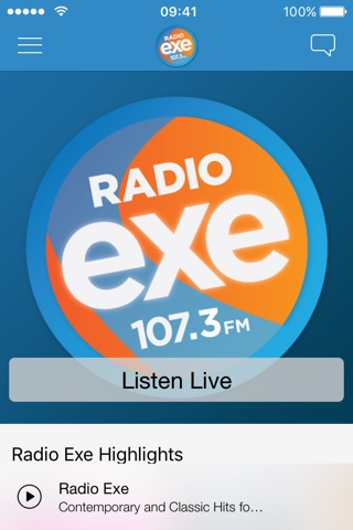 Radio Exe screenshot 1