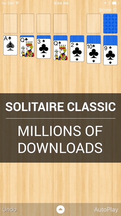Solitaire Classic Скриншоты3