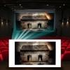 Projector Screen Simulator projector screen rentals