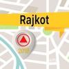 Rajkot 離線地圖導航和指南