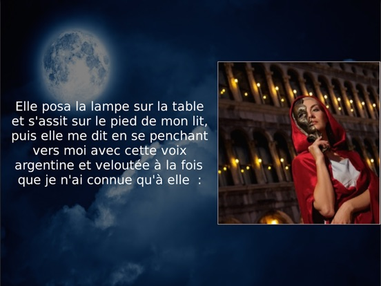 La Morte amoureuse (text and audio)-ipad-3