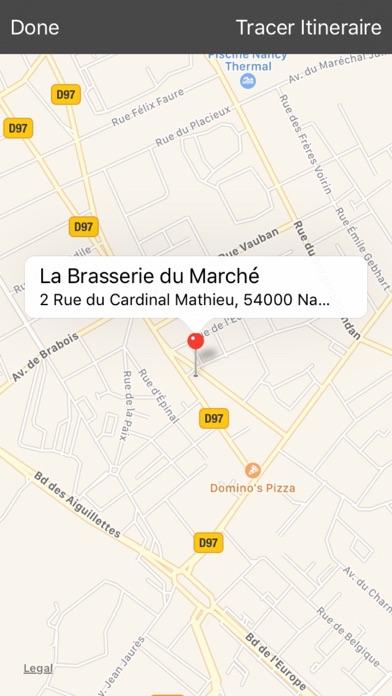 La Brasserie du Marché NancyCapture d'écran de 3