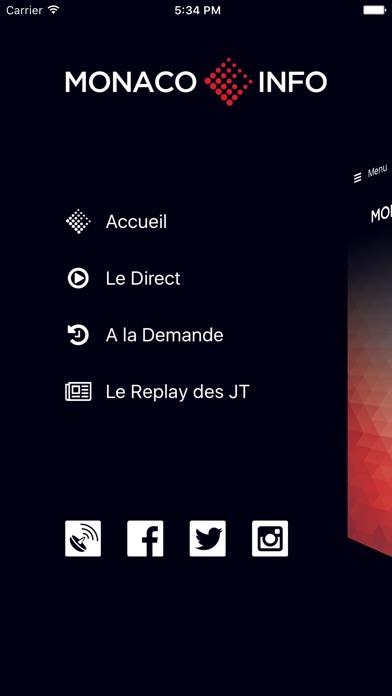 Monaco InfoCapture d'écran de 2