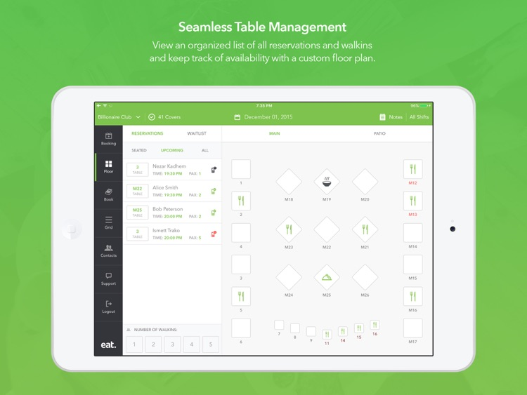 Restaurant Manager By Eat By Eat Inc - Table management app