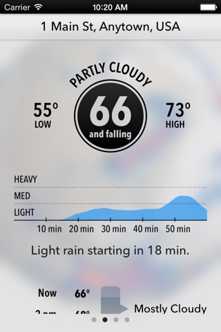 Dark Sky Weather screenshot 1