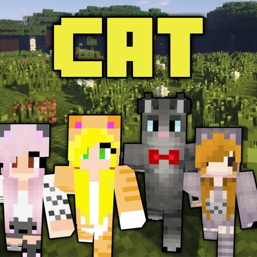 Cat skins new skins for minecraft pe pc apprecs for Modern house minecraft pe 0 12 1